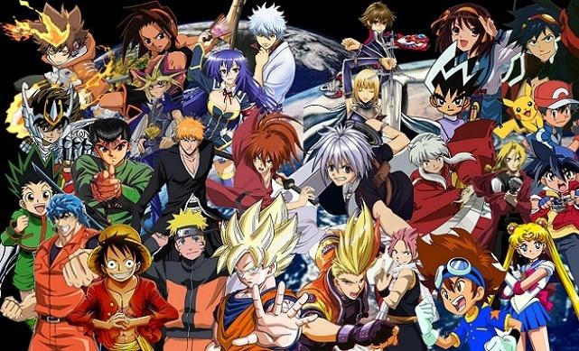 Os Melhores animes de luta de todos os tempos