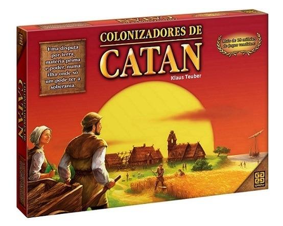 Colonizadores de Catan | Aprenda a Jogar com Review em Português