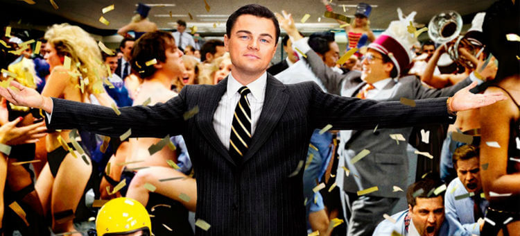 Cartaz do filme O Lobo de Wall Street
