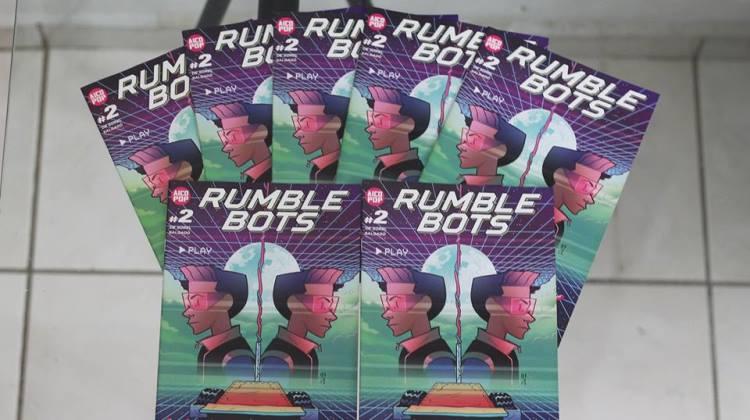 Rumble Bots #2 será lançada na Ugra Fest