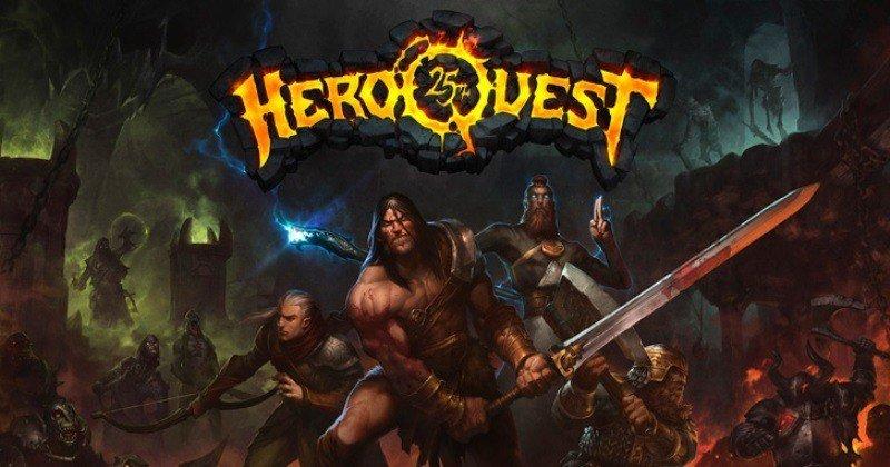 Hero Quest – Um RPG de tabuleiro online com a cara do D&D!