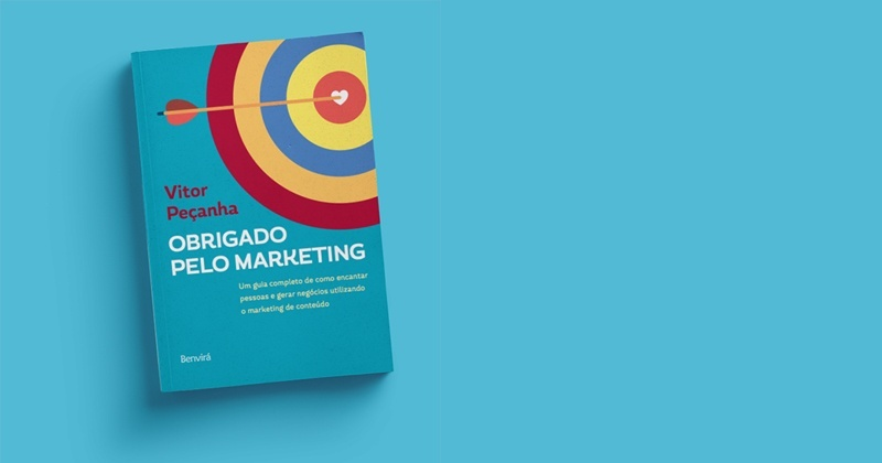 Capa do Livro Obrigado Pelo Marketing