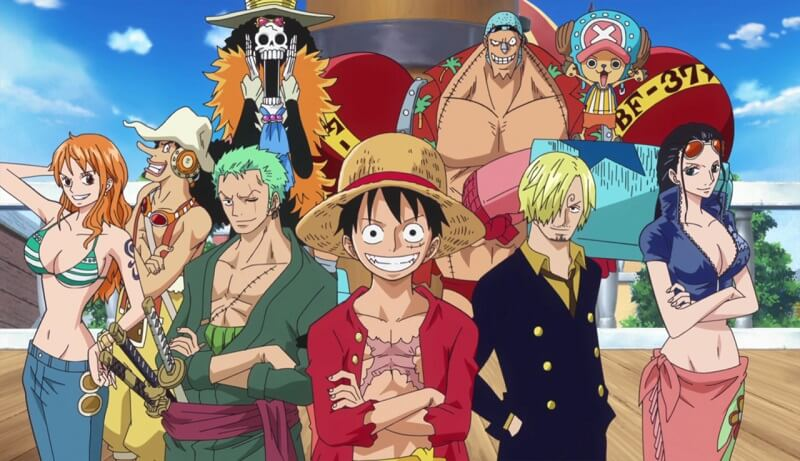 One Piece Piratas do Chapéu de Palha Reunidos
