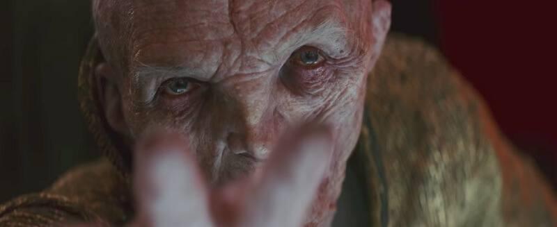 Star Wars: Os Últimos Jedi | Diretor explica grande cena com Snoke