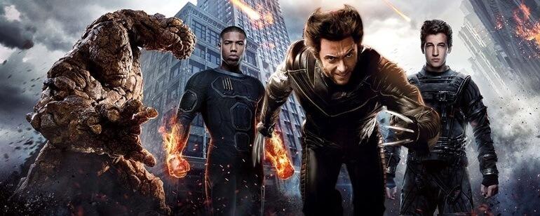 X-Men e Quarteto Fantástico MCU