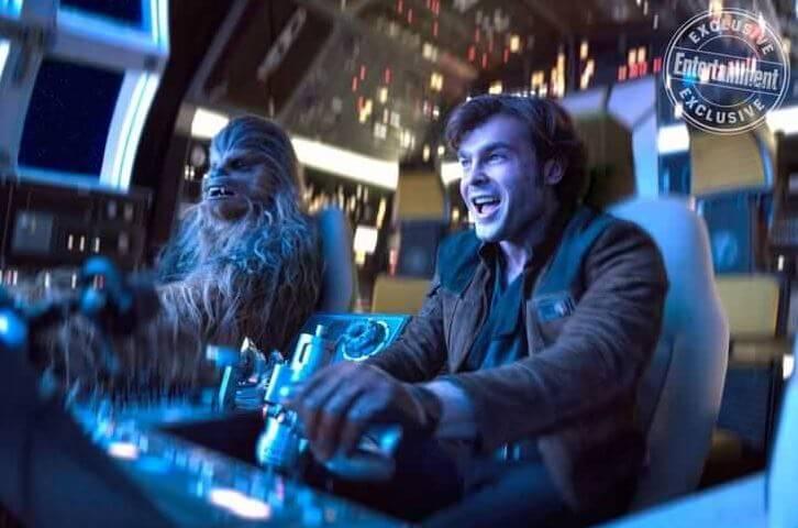 Han Solo   Novas imagens do próximo filme de Star Wars
