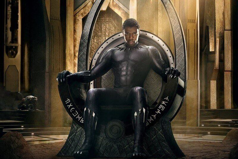 Pantera Negra no Trono de Wakanda