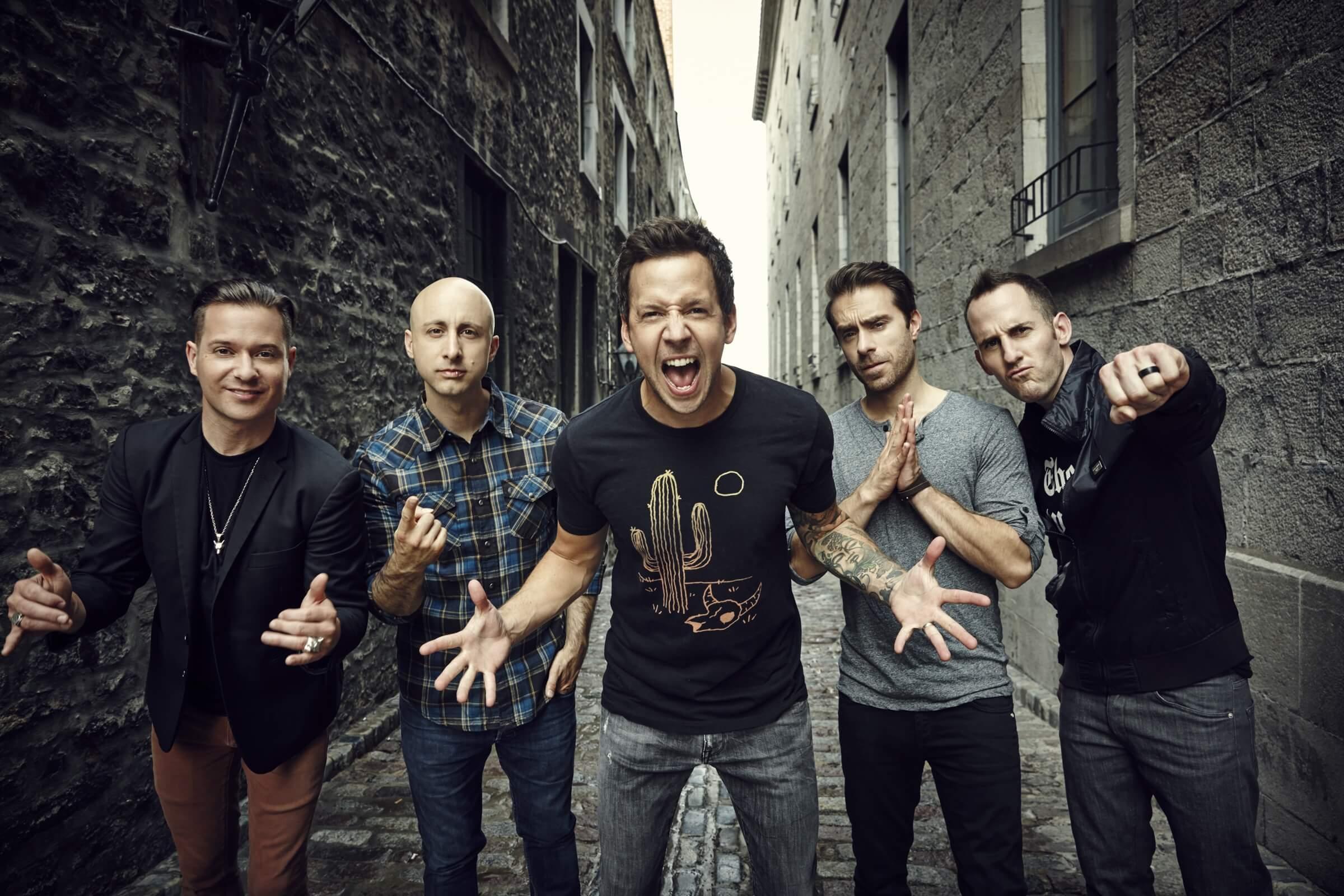 Simple Plan vem ao Brasil com turnê de 15 anos do álbum de estreia