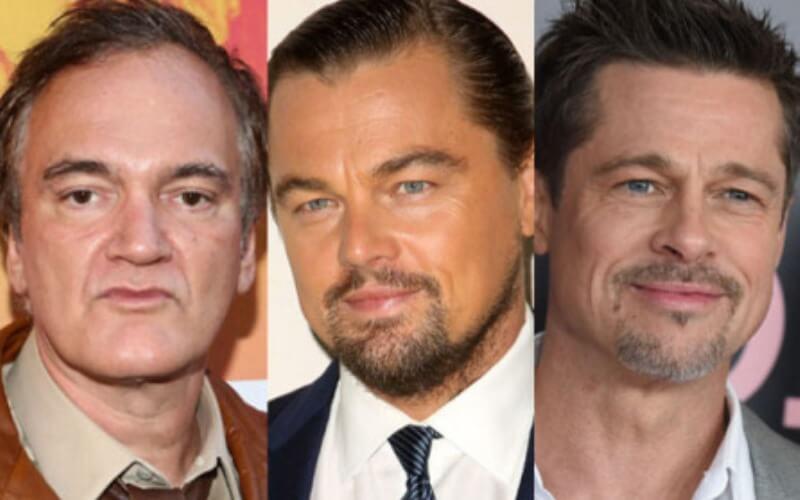 Tarantino reúne Leonardo DiCaprio e Brad Pitt em seu novo filme