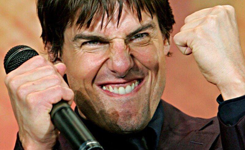 Tom Cruise feliz por essa lista