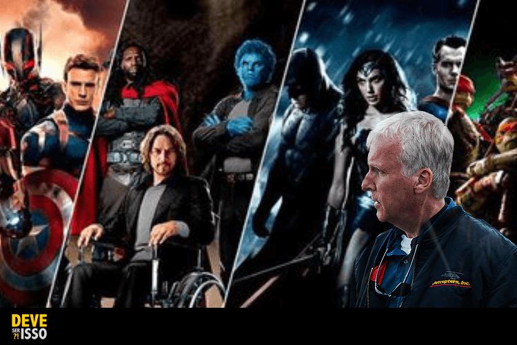Diretor de Avatar quer que o público enjoe de filmes de super-heróis!
