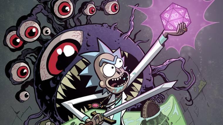 Rick and Morty | Dupla fará crossover em HQ com Caverna do Dragão