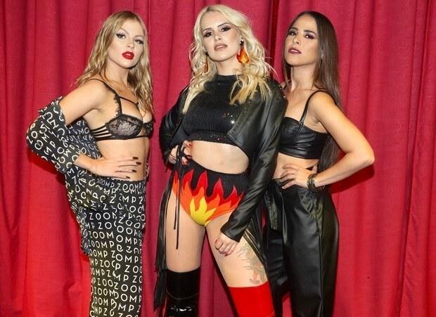 Francinne faz show com Wanessa Camargo e Luisa Sonza em SP