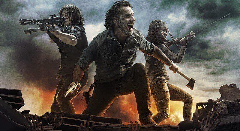 Melhores Séries de Terror - The Walking Dead