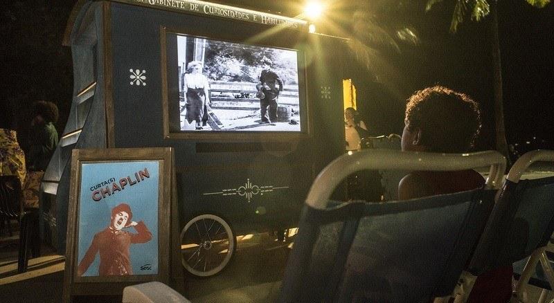 Curtas de Charles Chaplin para crianças serão exibidos no Sesc Av. Paulista