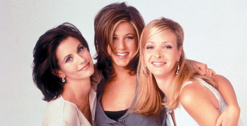 Atrizes de Friends uma das séries para aprender inglês