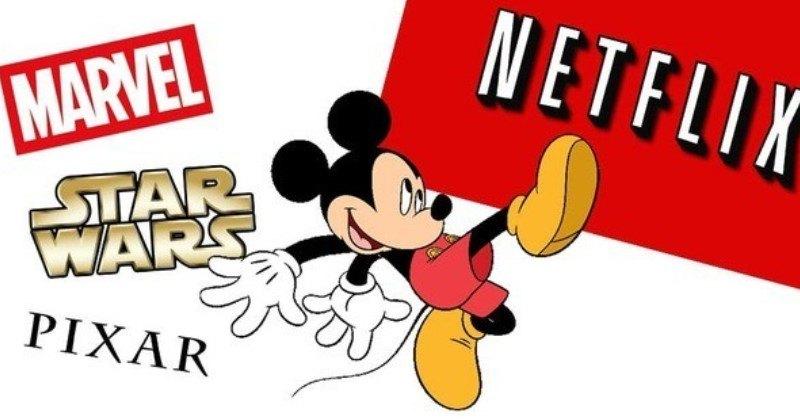 Disney retira 25 títulos do catálogo da Netflix em setembro