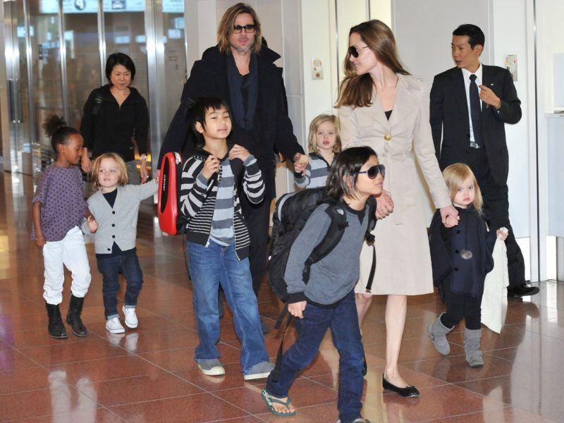 Brad Pitt, Angelina Jolie e Filhos