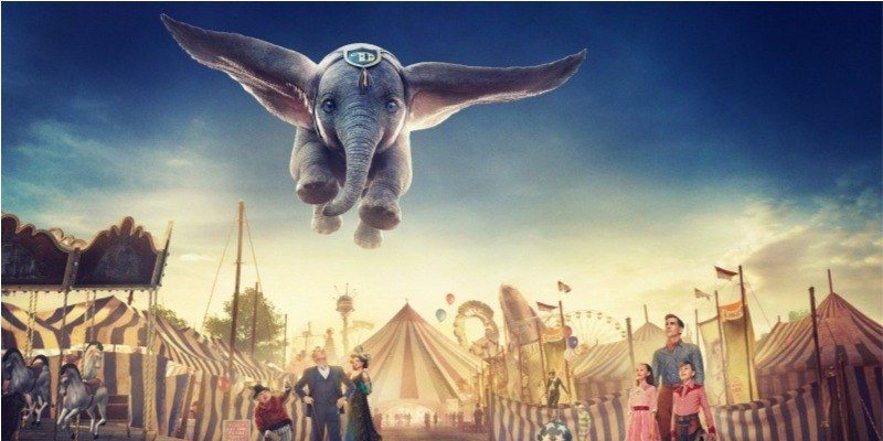 Cartaz do filme Dumbo - O Filme