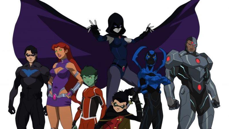 A Liga da Justiça e os Novos Titãs estreia na Netflix