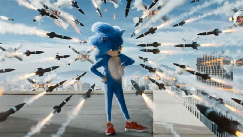 Sonic filme live-action com Jim Carrey de Robotnik