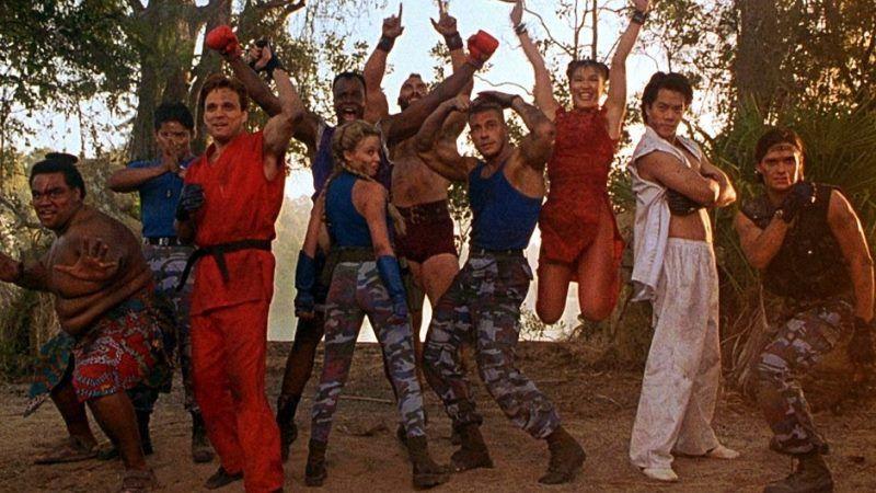 Elenco do filme Street Fight com Jean Claude Van Damme