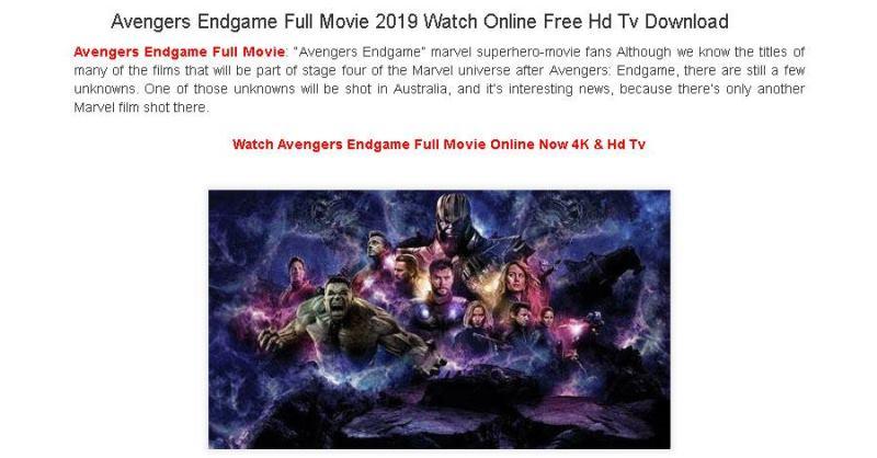 Download de Vingadores: Ultimato é usado por criminosos para roubar usuários, Deveserisso