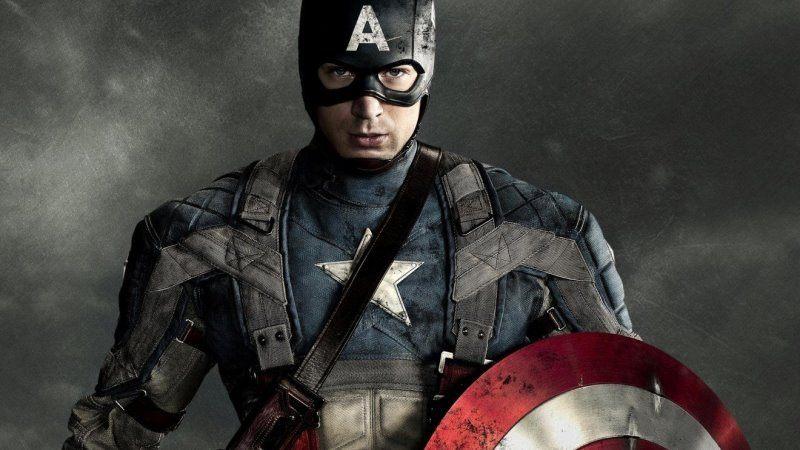 Cartaz do filme Capitão América - O Primeiro Vingador