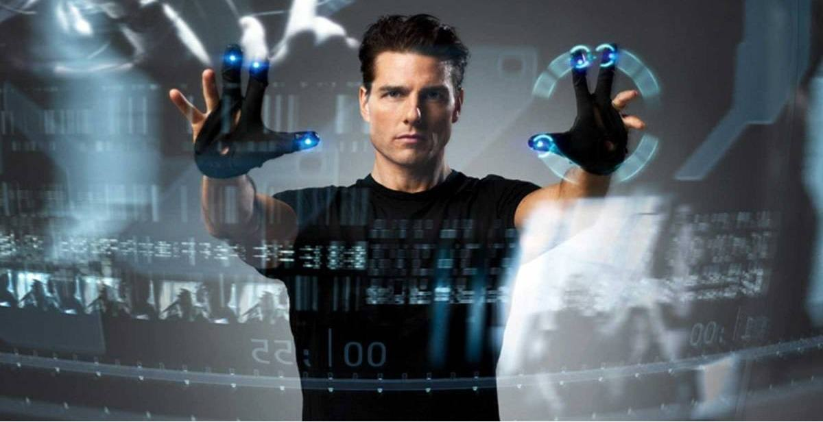Cena do filme Minority Report