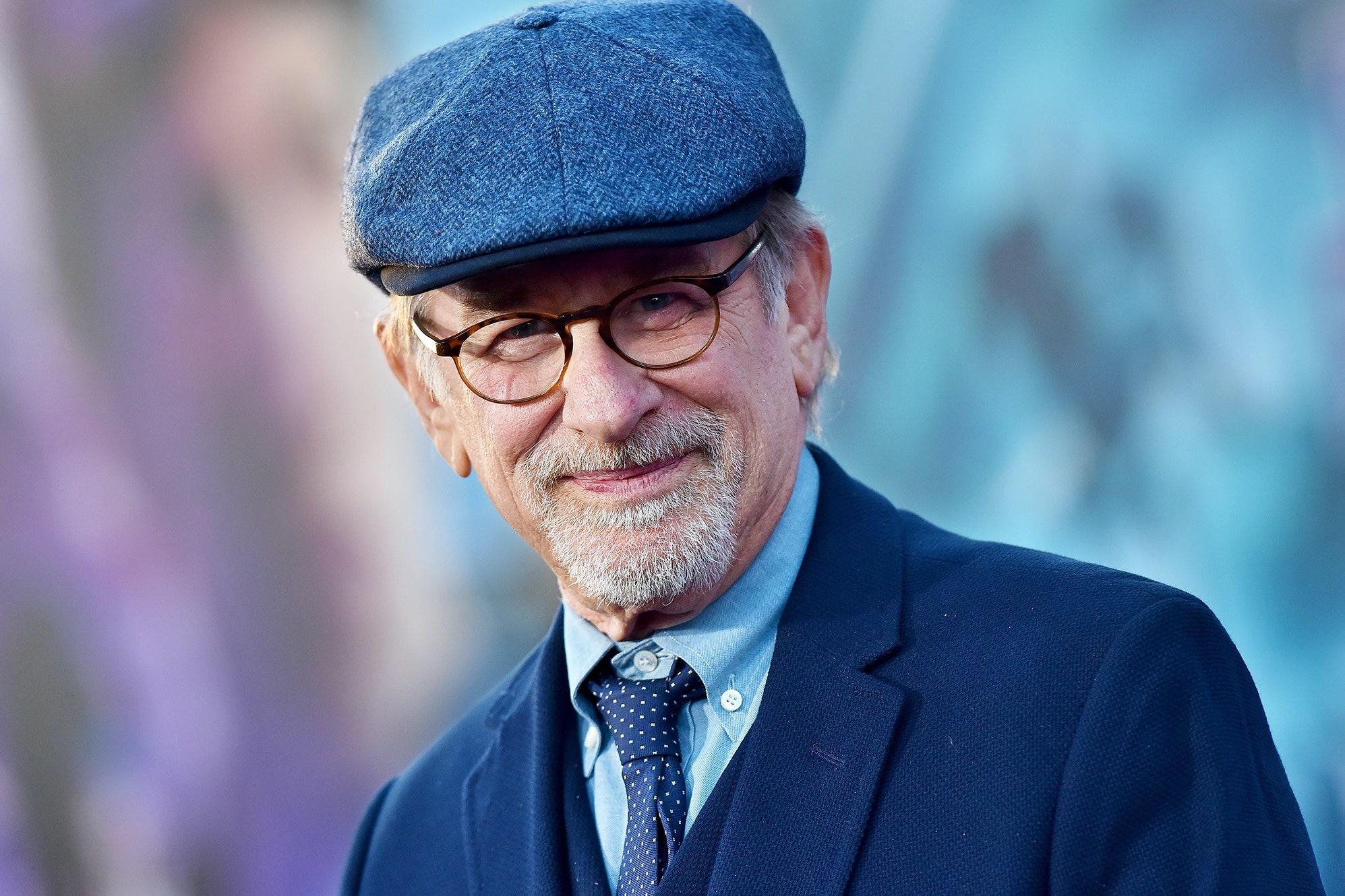 Foto do diretor Steven Spielberg