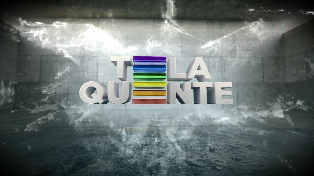 Imagem de abertura da Tela Quente da Rede Globo