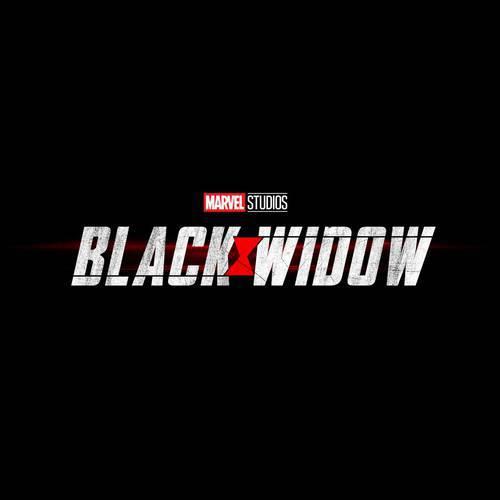 Logo do filme da Viúva Negra