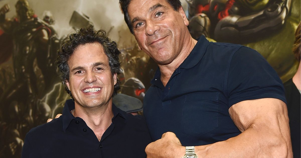 Mark Ruffalo e Lou Ferrigno