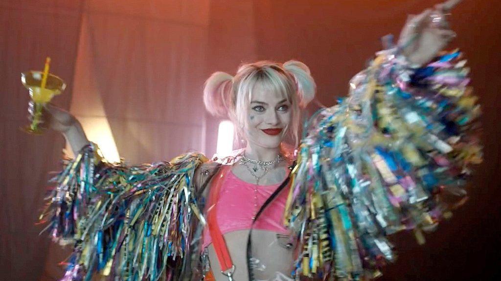 Margot Robbie como Arlequina em Aves de Rapina