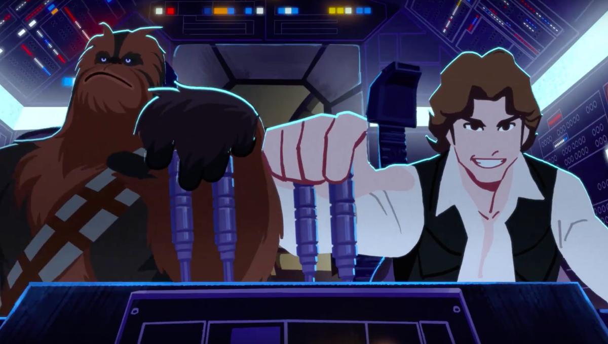 Star Wars Galaxy of Adventures apresenta a saga de forma divertida para crianças