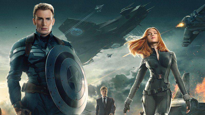 Cartaz do filme Capitão América 2: O Soldado Invernal - O Filme