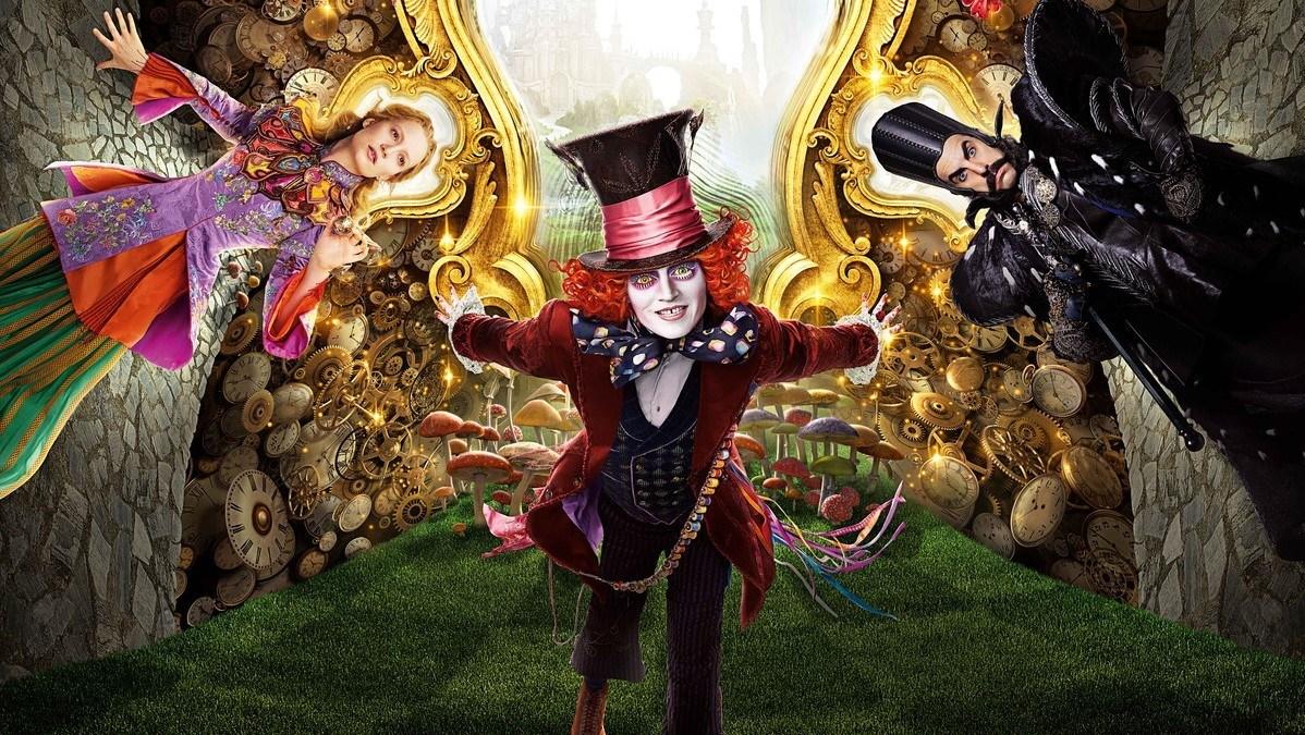 Cartaz do filme Alice Através do Espelho - O Filme