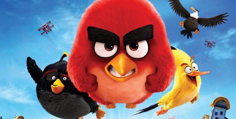 Cartaz do filme Angry Birds - O Filme