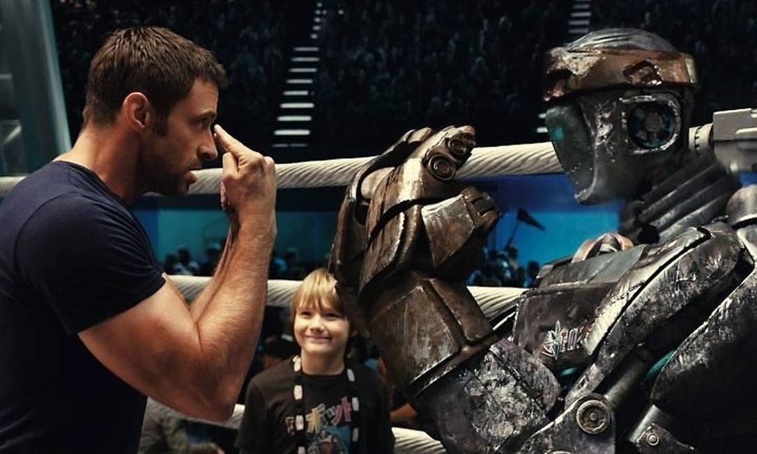 Cartaz do filme Gigantes de Aço - O Filme