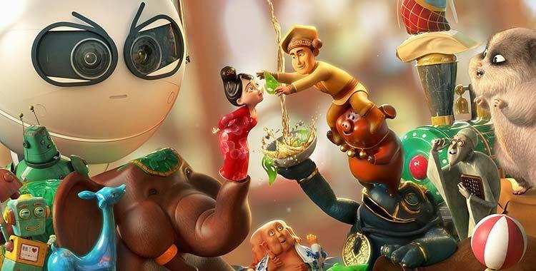 Cartaz do filme Os Brinquedos Mágicos - O Filme