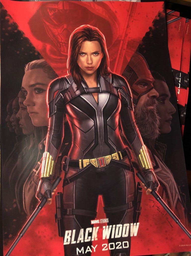Viúva Negra | Guardião Vermelho e Treinador são revelados em novo poster