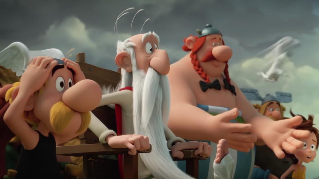 Cartaz do filme Asterix e o Segredo da Poção Mágica