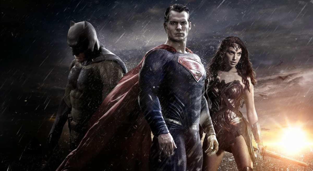 Cartaz do filme Batman Vs Superman A Origem da Justiça - O Filme