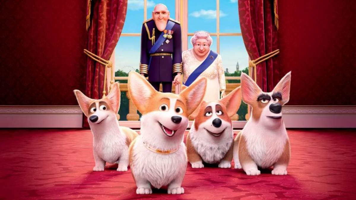 Cartaz do filme Corgi Top Dog - O Filme