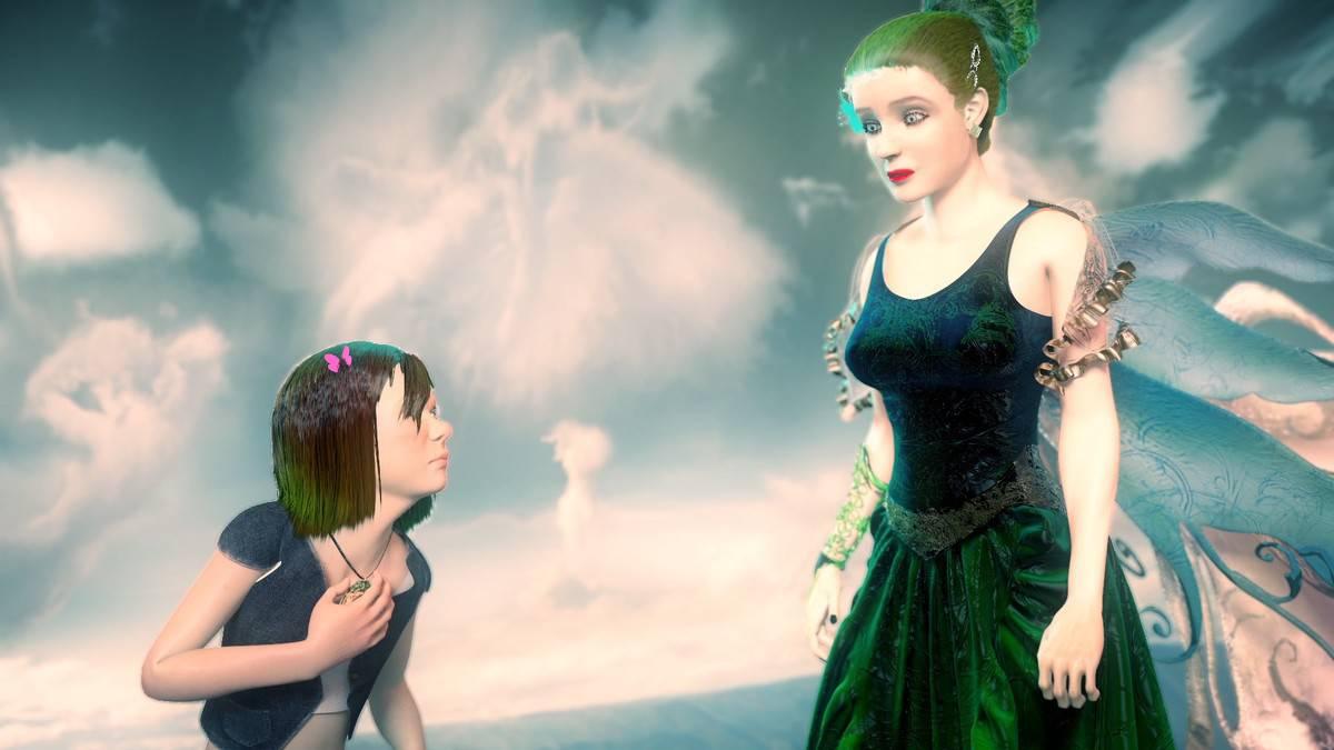 Cartaz do filme A Princesa de Elymia