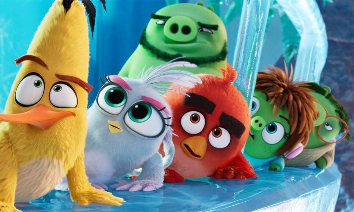 Cartaz do filme Angry Birds 2 O Filme - O Filme