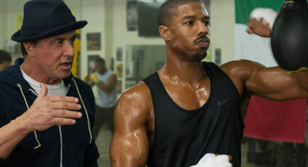 Cena do filme Creed: Nascido para lutar