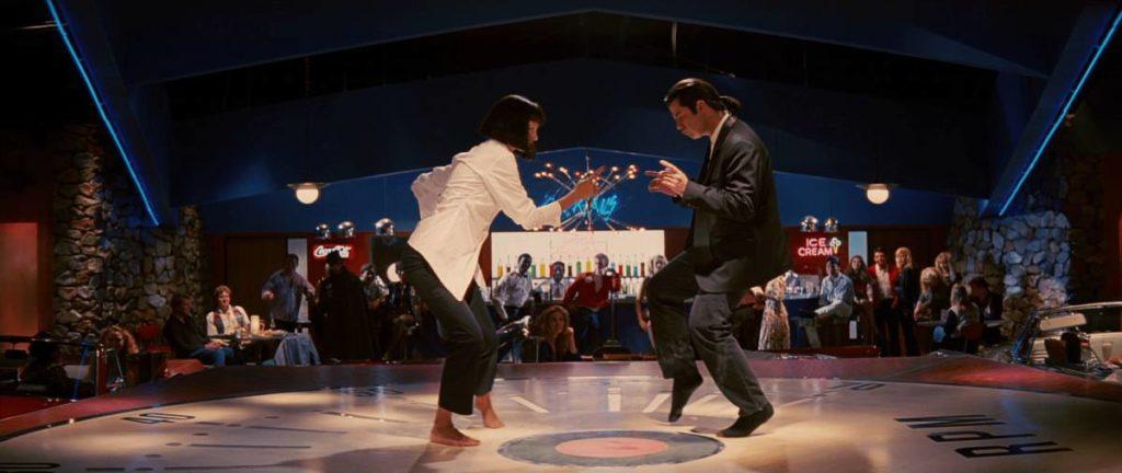 Clássica cena de dança de Pulp Fiction