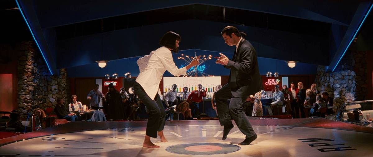 Clássica cena de dança de Pulp Fiction