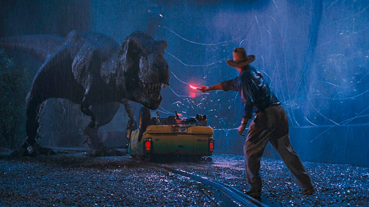 Cartaz do filme Jurassic Park: O Parque dos Dinossauros